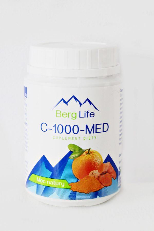 Naturalna witamina C 1000 w proszku