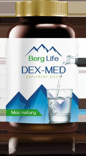 Tabletki na oczyszczanie organizmu z toksyn DEX-MED