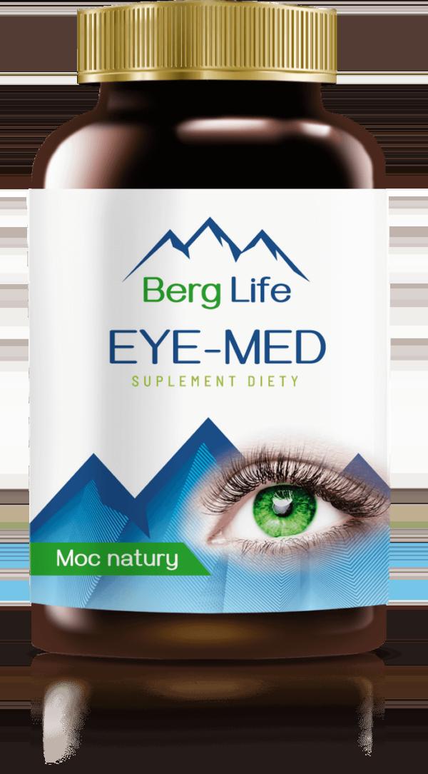 Skuteczne tabletki na poprawę wzroku EYE-MED