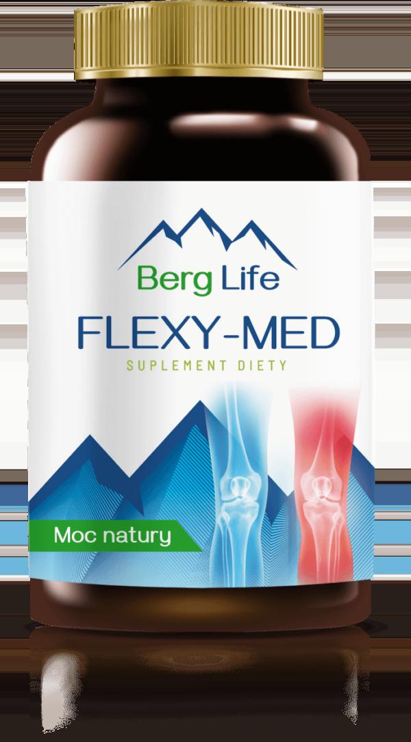 Suplement na stawy FLEXY-MED - tabletki na bóle mięśni i stawów