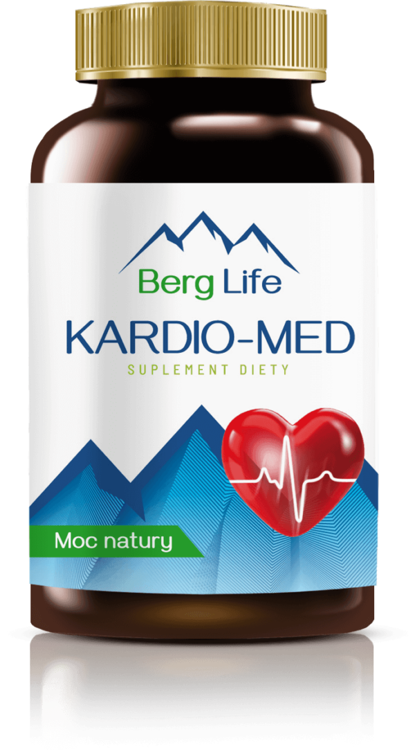 Suplement, preparat na wzmocnienie serca KARDIO-MED