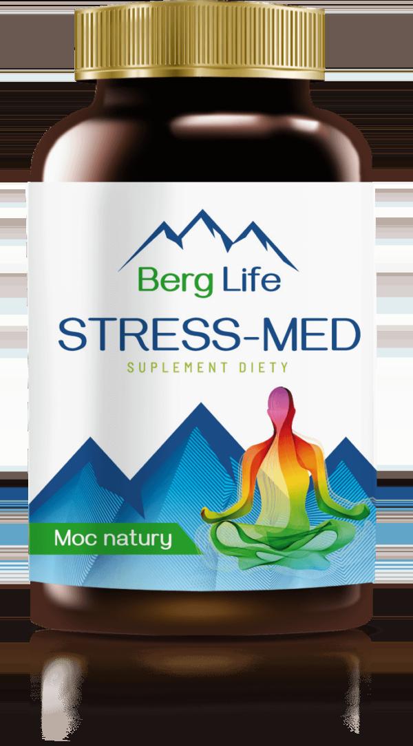 Tabletki na stres i nerwy STRESS MED - najmocniejszy lek na uspokojenie bez recepty